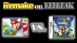 ROR: Super Mario 64 Vs. Super Mario 64 DS (N64 Vs. NDS)