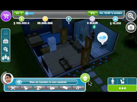 sims freeplay 1.11.6 living large stairway 100% money and lp no root needed.
