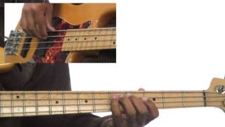 Bass Grooves - #16 5-4-1- Shuffle Groove Playalong - Bass Guitar Lesson - Andrew Ford
