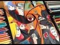 Akatsuki Art Collage Speed Drawing Naruto Shippuden