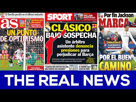 Real Madrid and MATCH FIXING?!?! | THE REAL NEWS