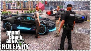 GTA 5 Roleplay - Crazy Driver Crashed $5 Million Bugatti Divo | RedlineRP #4