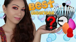 BEST Makeup Brush, Beauty Blender and Face Halo Cleanser ONLY 4?!