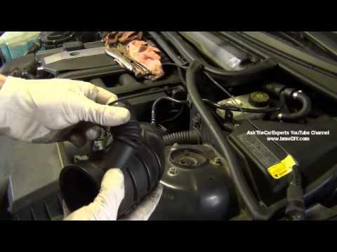 BMW Common Air Leak Locations M52TU M54 Mixture Too Lean