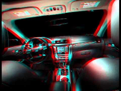 Autos en 3D para ver con gafas