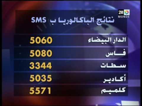 Résultat du Bac par SMS au Maroc par Jet Multimédia Maroc