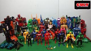 power rangers & megazord collection figures