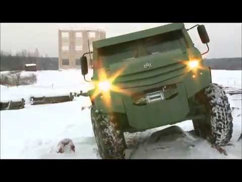 Новые Российские бронемашины 2014 года Торос и Колун в Москве.