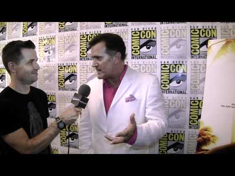 Burn Notice Comic-Con Exclusive: Bruce Campbell