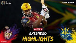 Extended Highlights   Trinbago Knight Riders vs Barbados Royals   CPL 2021
