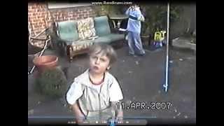 Toddler psychopath!