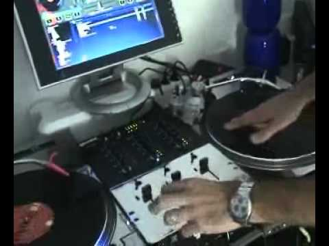 VIRTUAL DJ TURNTABLE SCRATCH, TIMECODE VINYL
