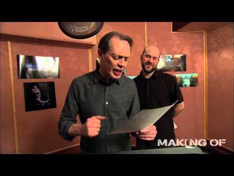 'Monsters University' Cast Recording Sessions Part 1