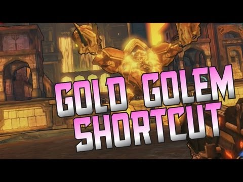 Borderlands 2 - GOLD GOLEM SHORTCUT - EASY LEGENDARY FARMING