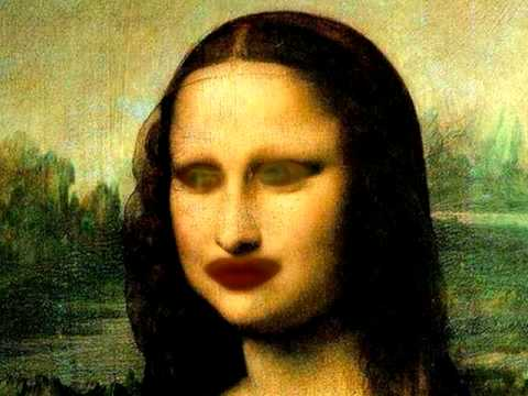 The mona lisa can talk?!?!?!