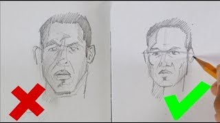 La technique simple pour corriger les yeux du dessin