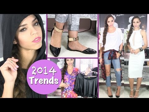2014 Fashion Trends Style Tips for Dresses, Shoes, Leather, Plaid, Flats