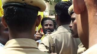 tamilnadu thevar peravai warning to  karunas