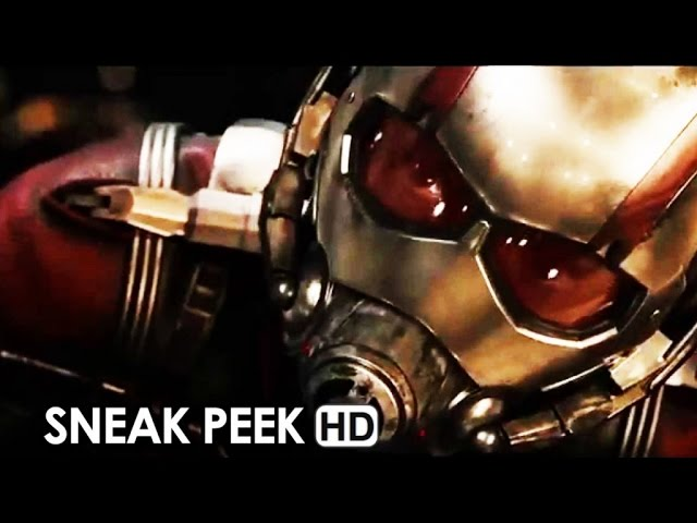 Ant-Man Official Trailer Sneak Peek + Movie News (2015) HD