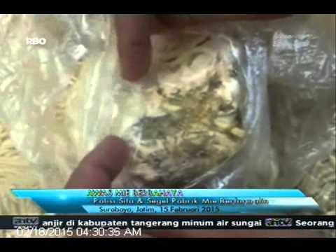 [ANTV] TOPIk, Polisi Sita & Segel Pabrik Mie Berbahaya