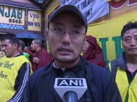 Exiled Tibetans in India take out protest against China
