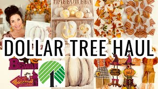 "DOLLAR TREE HAUL AWESOME ((NEW)) FINDS!! Meet ""Bear""🍁 ""I Love Fall"" ep 16 Olivia's Romantic Home DIY"