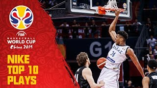 Nike Top 10 Plays w/ Jaylen Brown, Antetokounmpo & More! | FIBA Basketball World Cup 2019