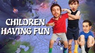 CHILDREN HAVING SOME FUN (SingSing Dota 2 Highlights #1109)