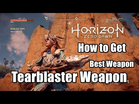 Самое мощное оружие Horizon Zero Dawn