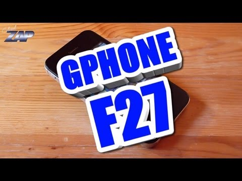 Gphone F27 Retina IPS Android Goophone Review - best iPhone 4S Clone? fastcardtech ColonelZap