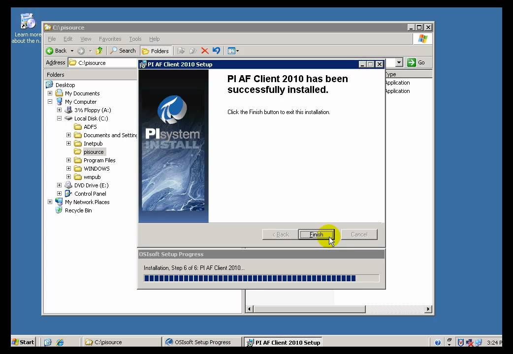 Osisoft install pi af part 2 af client client server for Consul server vs client