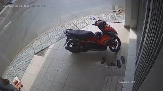 Trộm xe máy tháng 6/2019