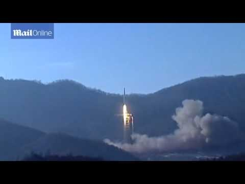 North Korean state TV broadcasts controversial rocket launch  .