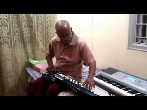 Har Kisiko Nahi Milta(sadna Sargam malhar-jaanbaaz-1986)on Bulbul Tarang banjo By Vinay M Kantak video