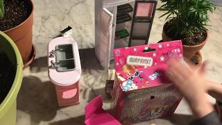 Shopkins! T-shirt Surprise Pack & Disney Happy Places Surprise with Barbie and LOL Little Sister