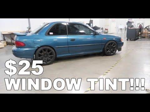 $25 Ebay Window Tint Install: How to