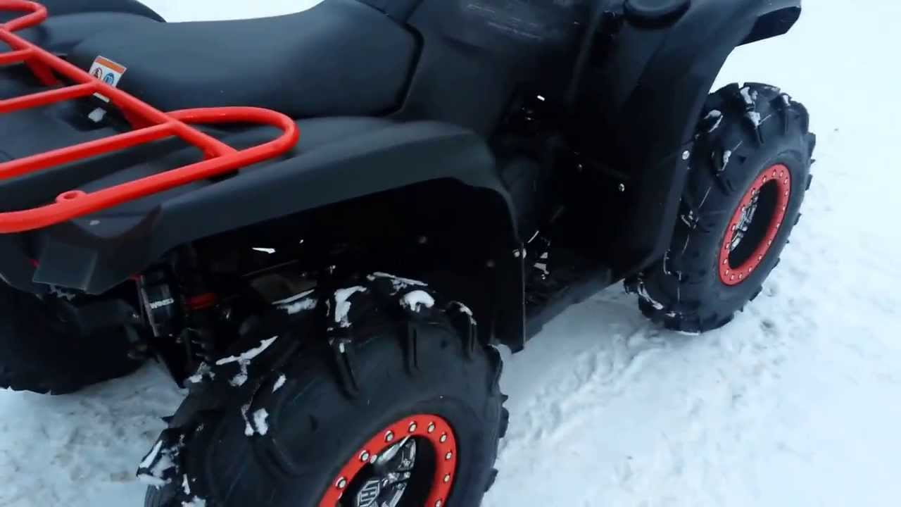 2014 Yamaha Grizzly 700 Special Edition Youtube