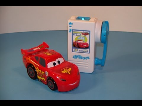 TAKARA TOMY DISNEY CARS 2 LIGHTNING McQUEEN R/C GURUGURU TOY REVIEW (No Batteries Required)