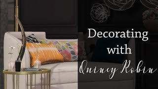 Decorating with Quincy - Abstract Vibrance