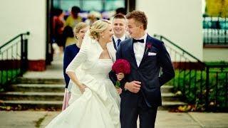 Romantyczny ślub Anety i Łukasza