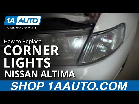 How To Install Replace Parking Light Nissan Altima  98-99 1AAuto.com