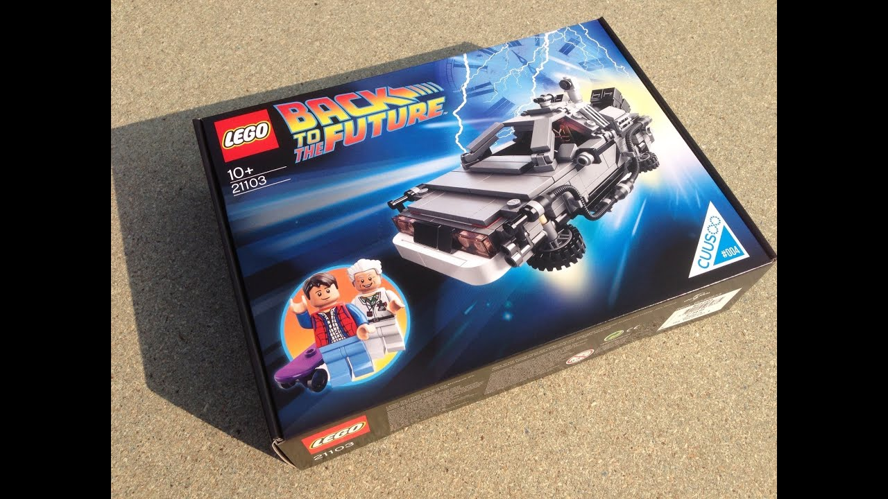 Lego 21103 Cuusoo Back To The Future Delorean Bttf Youtube