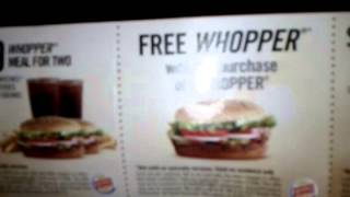 HOT NeW BURGER KING COUPONS - Get Them NOW !!!!