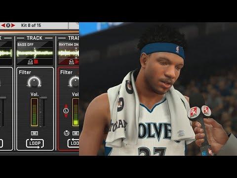NBA 2K18 My Career - Making Music in the Studio! PS4 Pro 4K Gameplay