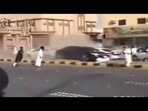 Bad Car Skating In Saudi Arabia
