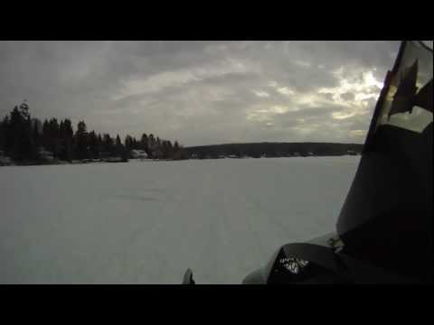 Sick Fast SkiDoo Turbo 1200 On Board Camera