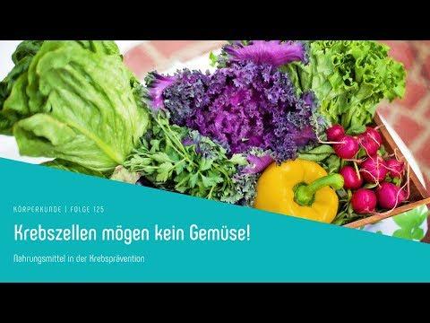 Krebszellen mögen kein Gemüse! Nahrungsmittel als Krebsprävention!