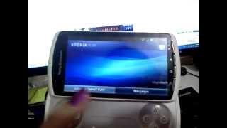 xperia play error video display
