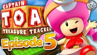 Captain Toad Treasure Tracker Gameplay Walkthrough - Episode 5 - Toadette's Adventure! (Switch)