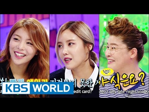 Hello Counselor - Ailee, Hyomin, Seoyeon (t-ara) & Kim Jongseo! (2014.10.20) video